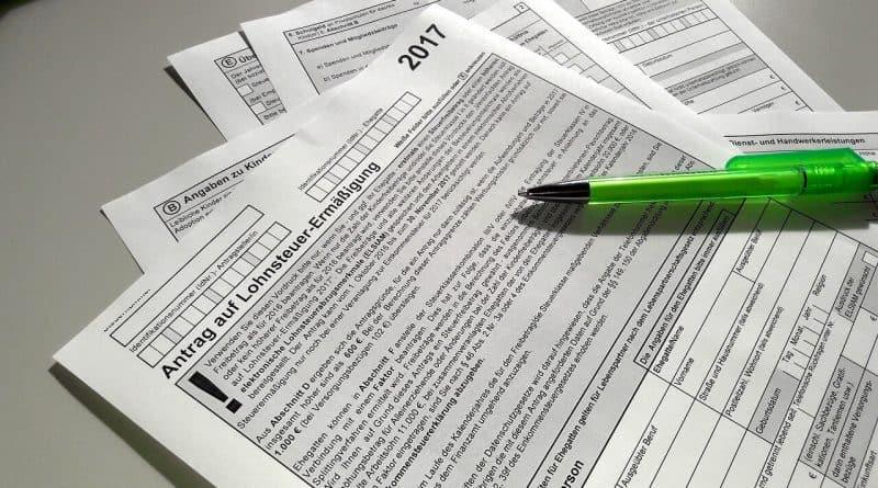 Die passive Steuererklärung