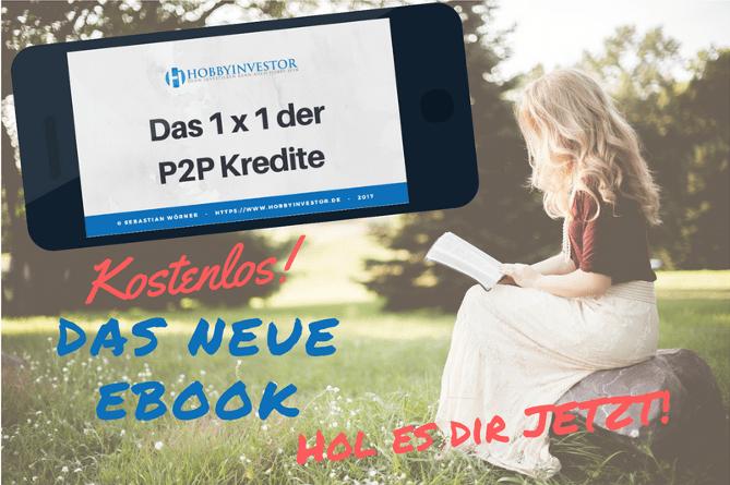 """E-Book """"Das 1x1 der P2P Kredite"""""""