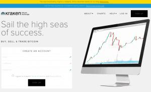 Kraken Handelsplatz für Kryptowährungen