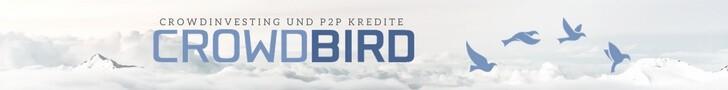 Crowdbird - Crowdinvesting und P2P Kredite