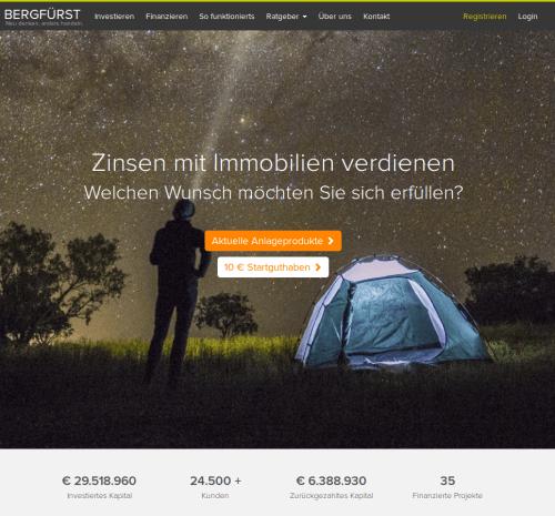Startseite Bergfürst Crowdinvesting