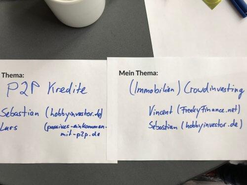 Meine Barcamp Themen