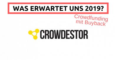 Crowdestor Crowdfunding Rückkaufgarantie Buyback