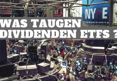 Dividenden ETFs Vorteile und Nachteile Dividenen ETF