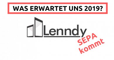 Lenndy 2019 SEPA Überweisung kommt