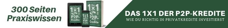 300 Seiten Praxiswissen - Buch Das 1x1 der P2P-Kredite