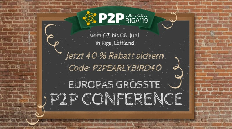 P2PConference 2019 in Riga Lettland