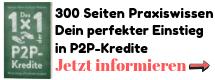 P2P-Kredite Buch Hinweis